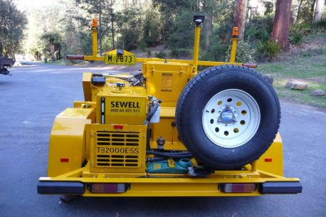 Sewell Sweepers TB2000ESS